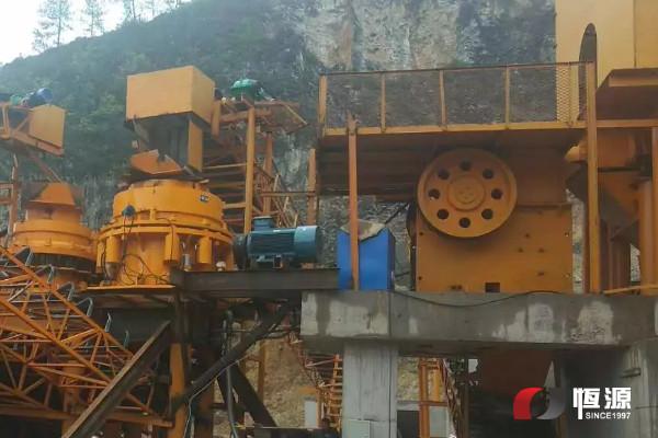<b>上海恒源矿山破碎筛分设备、制砂机发货实况</b>