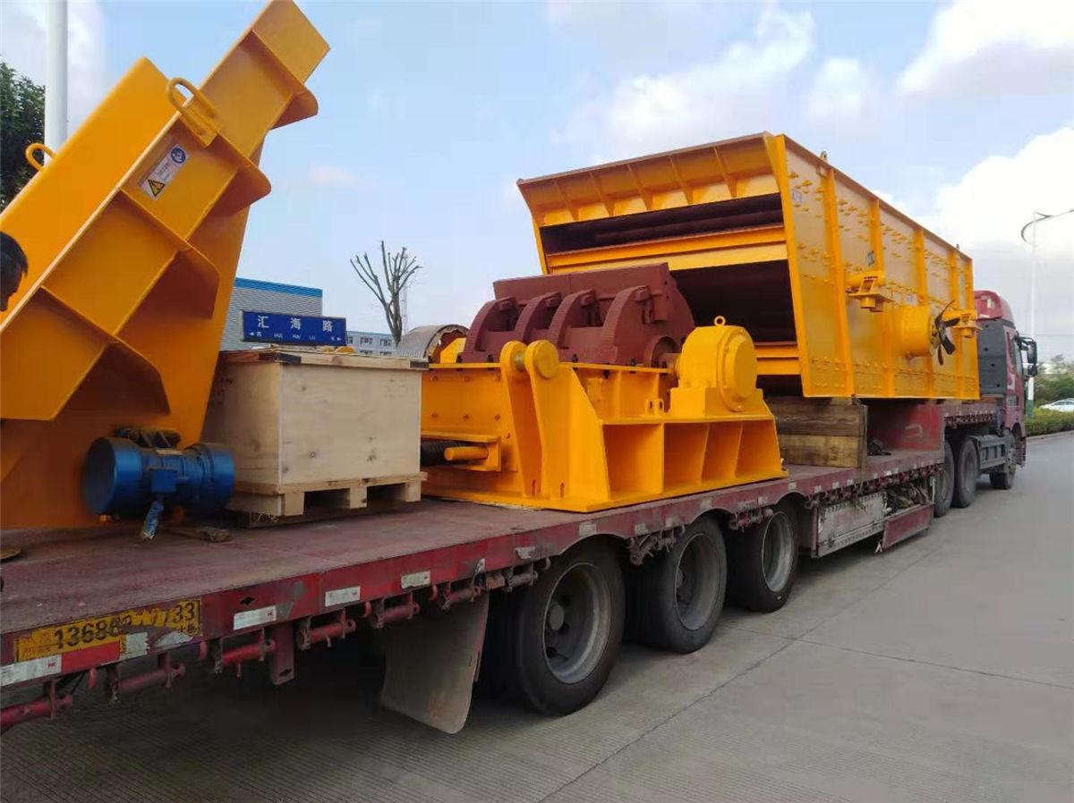 湖南砂石设备发货暨细碎机设备发货回顾
