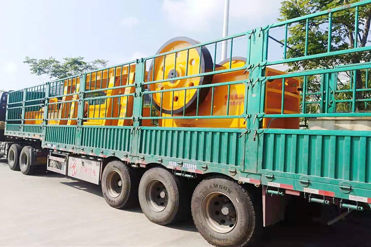吉林砂石生产线设备暨破碎机设备发货回顾