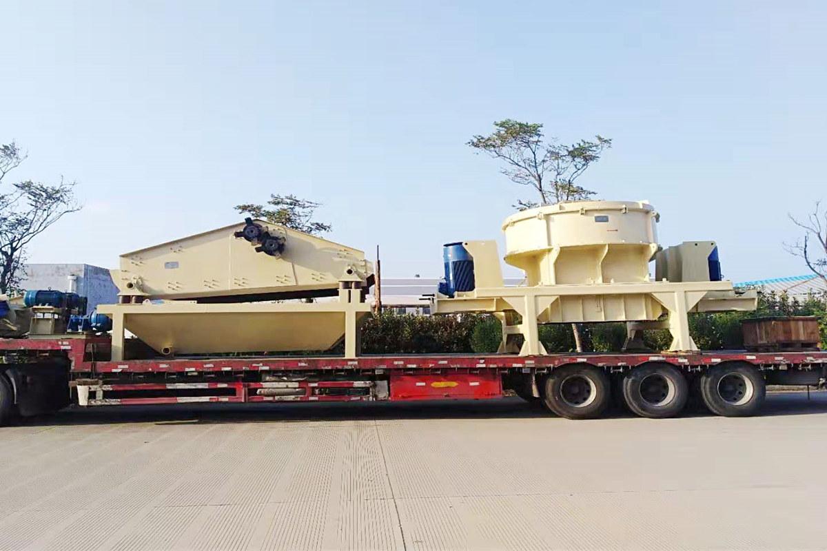 湖南砂石生产线设备暨破碎机设备发货回顾