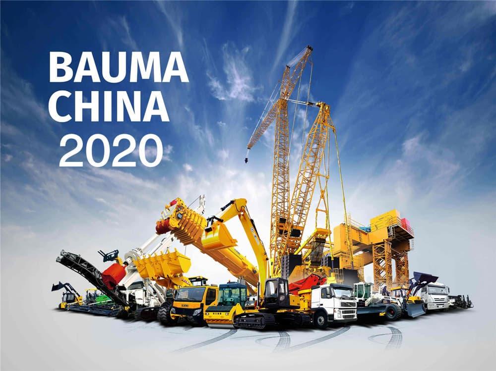 <b>恭祝2020 bauma china 宝马工程机械展顺利开展!</b>